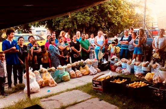 Comedores sociales REMAR México
