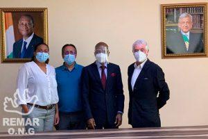 Remar en México ha recibido una visita del embajador de Costa de Marfil